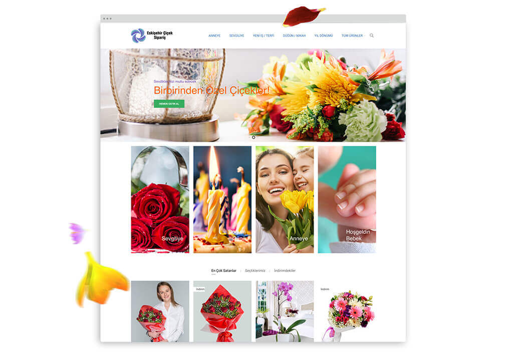 eskişehir çiçek sipariş detay